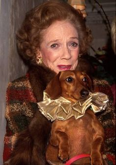 Brooke Astor loved her doxies...