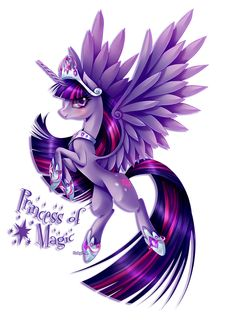 My Little Pony: Friendship is Magic fan art // Princess Twilight Sparkle by RubyPM on Deviantart