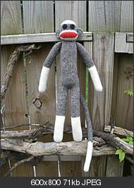 sock monkey free crochet pattern by  doob on Crochetville