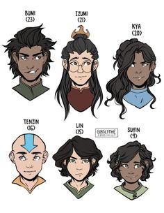 avatar the last airbender Children of the Gaang (where's Iro. Avatar Aang, Avatar Airbender, Avatar Legend Of Aang, Avatar The Last Airbender Funny, The Last Avatar, Team Avatar, Avatar Cartoon, Cartoon Disney, The Last Airbender