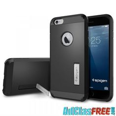 The Tough Armor is the new leader in protective cases providing better impact absorption than any other boxy case, providing superior protection for your iPhone Plus / 6 Plus. In Metal Slate. - Spigen Tough Armor iPhone Plus / 6 Plus Case - Metal Slate Iphone Pro, Coque Iphone 6, Iphone 6 Cases, Iphone 6 Plus Case, Cell Phone Cases, Ipad Accessories, Cell Phone Accessories, Funda Iphone 6 Plus, Iphone 6 Design