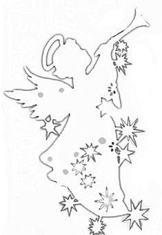 Foto Magical Christmas, Christmas Crafts, Diy Christmas Crackers, Box Template Printable, Christmas Tree Template, Glass Painting Designs, Diy Christmas Decorations Easy, Angel Crafts, How To Make Toys