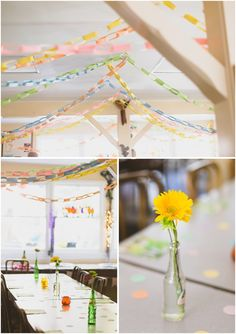 nature friends los angeles fine art wedding photographer_diy colorful wedding reception for an intimate space