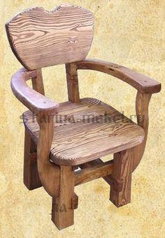 Кресло под старину Мушкетер из массива