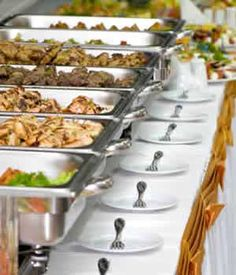 Hot food buffet-would be great to find some of these,I want to cook some of the things for my wedding