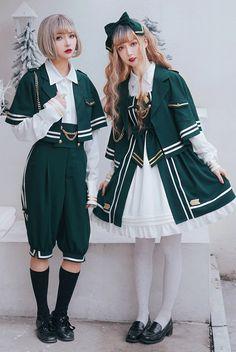 Sweet Chocolate -The Music Academy- Ouji Set,Lolita Top, Harajuku Mode, Harajuku Fashion, Kawaii Fashion, Lolita Fashion, Fashion Outfits, Fashion Styles, Moda Lolita, Lolita Mode, Fashion Design Sketches