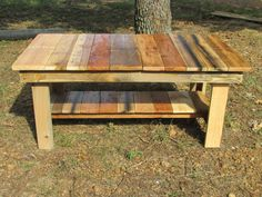 Rustic Coffee Table, Console, Reclaimed Wood, TV Stand, Side Table, Living Room furniture, solid wood table
