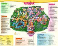disneyland paris map in english