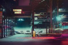 Electric Photographs of New York Cars – Fubiz Media