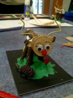 Natural christmas craft