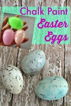 Last fall I shared with you how I transformed some cheap-o pumpkins from plain orange to a more decor friendly white and gold. Today I am going to show you how I turned some cheap-o plastic Easter eggs into more natural pretty ones. Who doesn't have a bag full of these plastic eggs? Go ahead …