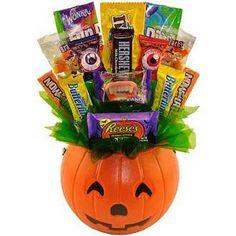 Sweets In Bloom Boo Halloween Pumpkin Candy Bouquet 1ct