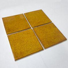 "4""x4"" Moss Brown from Mercury Mosaics--  Handmade tile perfect for mosaics or some interest in an installation.  There are so many colors and shapes!  buy it by the piece."