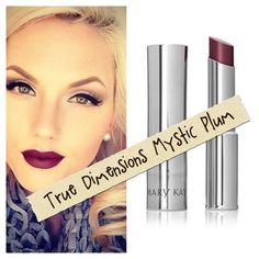 Mary Kay Mystic Plum True Dimensions Lipstick. www.marykay.com/jszkolnicki