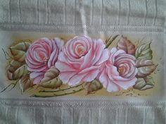 Pintura em Tecido Passo a Passo: Como pintar rosas e folhas Fabric Painting, Paint Designs, Tree Branches, Art Images, Folk Art, Stencils, Art Pieces, Tableware, Creative
