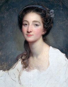 Sophie Arnould (1740-1802), famous opera singer, 1773 by Jean-Baptiste Greuze