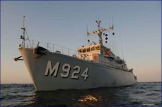 Belgian Navy M924 Primula - Minesweeper.