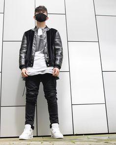 """52 Likes, 4 Comments - Noir Parissé (@noirparisse) on Instagram: """"Styling #NoirParisse jeans with the 'Leather and Velvet' bomber"""""""