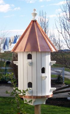 1000 Images About Bird Houses On Pinterest Copper Roof