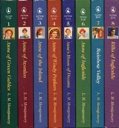 Anne of Green Gables series - remembered a few days ago that I still haven't read the last five books yet! Need to find them to read after over the summer, after I've finished exams