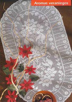 Crochet Knitting Handicraft: Tablecloths