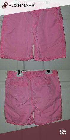 OSHKOSH Girls Pink Shorts Oshkosh Girls Pink Shorts Size 6x Osh Kosh Bottoms Shorts