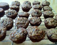 Gluten Free Chocolate Chip Zucchini Mini-Muffin Recipe