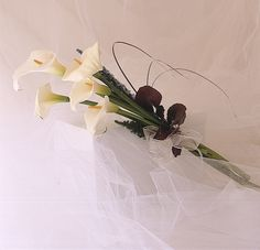 Ramo de novia vintage de calas italianas | Bourguignon Floristas #weddingbouquet #bridalbouquet #weddingflowers #novias