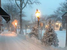 Nantucket in snow...