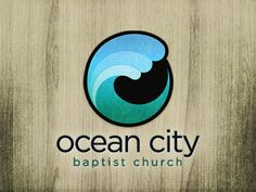 40 Creative Samples of Church Logo Designs . lots of variety in the designs, but it's helpful place to get ideas and see new logo trends Three Logo, Business Stamps, Church Logo, Waves Logo, Self Branding, Photography Logos, Ocean Photography, Professional Logo Design, Great Logos