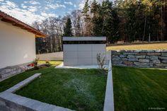 Design Gartenhaus @_gart by design@garten, Augsburg, garden shed in Austria - Niederösterreich, #Gartenhaus #Gerätehaus #HPL
