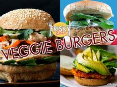 Frisky Eats: 10 Veggie Burger Recipes You'll Want To Eat Every Day