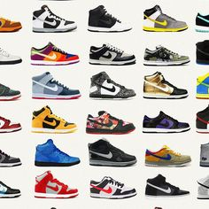 Nike Poster Nike Dunks Shoe Poster Fashion Poster Nike image 2