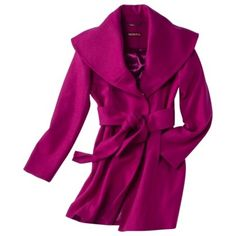 Merona Wool Coat, $49.99 @ Target, love the style and color