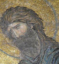 John the Baptist - Deesis Mosaic - Hagia Sophia