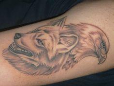"""Résultat de recherche d'images pour """"tatouage mi aigle mi chat"""""""