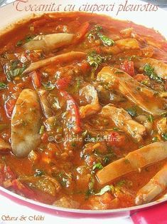 Lebanese Recipes, Raw Vegan Recipes, Healthy Recipes, Mushroom Recipes, Vegetable Recipes, Easy Cooking, Cooking Recipes, How To Cook Mushrooms, Romanian Food