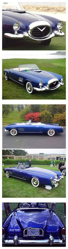 1954 Cadillac Pininfarina Roadster. One of A Kind. Gorgeous and Priceless...Re-Pin brought to you by #CarInsuranceagents at #HouseofInsurance in #EugeneOregon