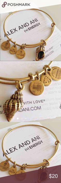 Seashell Alex & Ani little signs of wear Alex & Ani Jewelry Bracelets