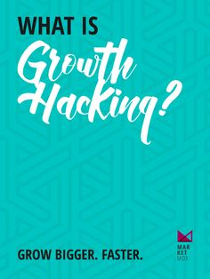Focused on Growth Growth Hacking, Believe, Success, Marketing, Awesome
