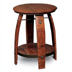 Barrel Side Table, $265, now featured on Fab.