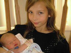 My daughter, Savannah and grandson Keenan