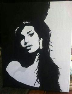 Kevin Ray Bennett Amy Winehouse painting