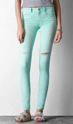 Love these mint skinnies!
