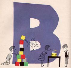 N is for Nursery School - written by Blossom Budney, illustrtaed by Vladimir Bobri (1956).