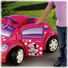 Power Wheels Disney Minnie Mouse Bow-tique Volkswagen New Beetle - Fisher-Price Online Toy Store