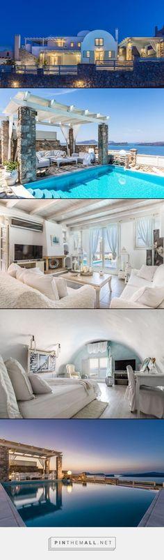 Villa Michaela Residence- Santorini, Greece- 5 bed 3 baths, #travel #europe #greece #santorini #villarentals #vacation