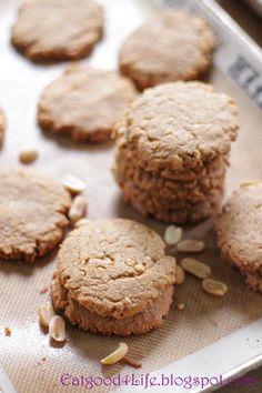 Eat Good 4 Life: Gluten free peanut butter cookies