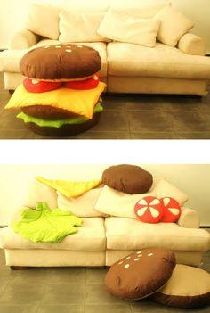 burger-pillow
