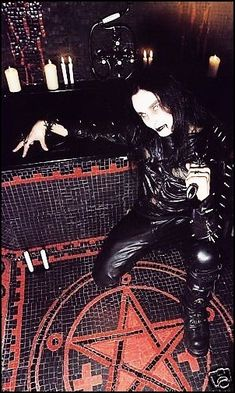 for the love of Daniel Lloyd Davey Vintage Goth, Carpathian Forest, Musica Metal, Dark Site, Dani Filth, Traditional Witchcraft, Cradle Of Filth, Satanic Art, Band Photography